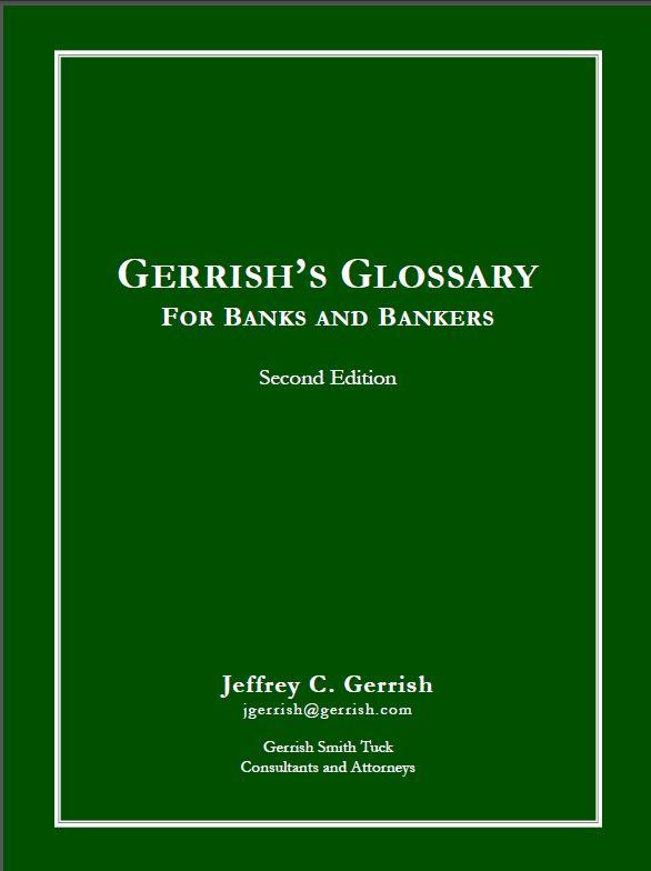 Bank Director Glossary